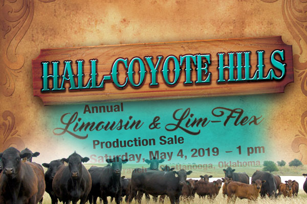 Hall-Coyote Hills Ranch Annual Production Sale